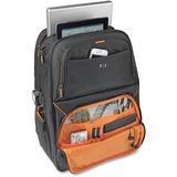 "Solo Carrying Case (Backpack) for 17.3"" Notebook - Black, Orange - Shoulder Strap, Handle - 18.50"" (469.90 mm) Height x 13"" (330.20 mm) Width x 8"" (203.20 mm) Depth"