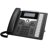 Cisco 7861 IP Phone - Wall Mountable - 16 x Total Line - VoIP - Caller ID - SpeakerphoneEnhanced User Connect License - 2 x Network (RJ-45) - PoE Ports - Monochrome