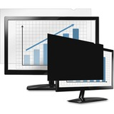 "Fellowes PrivaScreenâ""¢ Blackout Privacy Filter - 21.5"" Wide - For 21.5"" Widescreen LCD Notebook, Monitor - 16:9 - Dust-free, Fingerprint Resistant, Scratch Resistant - Polyethylene - Black - TAA Compliant"