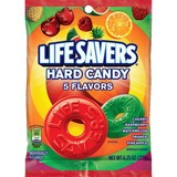 Wrigley LifeSavers 5 Flavors Hard Candies - Cherry, Raspberry, Watermelon, Orange, Pineapple - Individually Wrapped - 177.2 g
