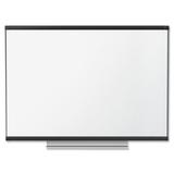 "Quartet Prestige 2 Nonmagnetic Total Erase Board - 48"" (4 ft) Width x 36"" (3 ft) Height - Graphite Frame - Rectangle - Wall Mount - 1 Each"