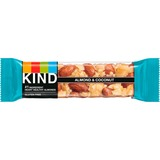 KIND Almond/Coconut Fruit and Nut Bars - Gluten-free, Wheat-free, Dairy-free, Non-GMO, Sulfur dioxide-free - Coconut, Almond - 39.7 g - 12 / Box