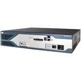 Cisco 2821 w/ AC Power, 2GE, 4HWIC, 3PVDM, 1NME-X, 2AIM, IP Base, 128F/256D