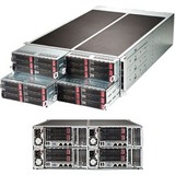 Supermicro Fattwin F628R3-RTB+ 4U Xeon E5 2XLGA2011 DDR4 6SATA PCIe 2GBE 4 Nodes 1280W 1+1 Server