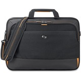 "Solo Urban Carrying Case (Briefcase) for 11"" to 17.3"" Ultrabook - Black, Gold"