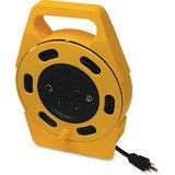 Woods Power Extension Cord - 10 A - Yellow, Black - 1