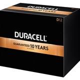 Duracell CopperTop Alkaline D Battery - For Multipurpose - D, LR20 - 1.5 V DC - Alkaline Manganese Dioxide - 12 / Box