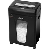 "Swingline Micro-Cut Shredder - Micro Cut - for shredding CD, DVD, Paper, Paper Clip, Staples - P-5 - 9"" Throat - 22.71 L Wastebin Capacity - Black"