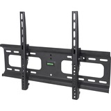 "Manhattan 424752 Wall Mount for Flat Panel Display, TV - Black - 1 Display(s) Supported - 37"" to 70"" Screen Support - 74.84 kg Load Capacity"