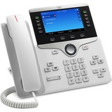 Cisco 8851 IP Phone - Wall Mountable - White - VoIP - Caller ID - SpeakerphoneUnified Communications Manager, Unified Communications Manager Express, User Connect License - 2 x Network (RJ-45) - USB - PoE Ports - SIP, LLDP-PoE, SDP, DHCP, RTP, RTCP, LLDP,
