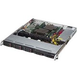 Supermicro 113MFAC2-605CB 1U RM 8BAY Black 600W Rps ATX