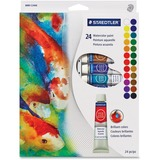 Staedtler 8880 Watercolor Paints - 12 mL - 24 / Set - Assorted