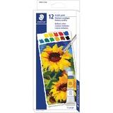 Staedtler Acrylic Paint Tube Set - 12 mL - 12 / Set