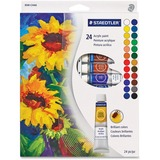 Staedtler 8500 Acrylic Paints - 12 mL - 24 / Set