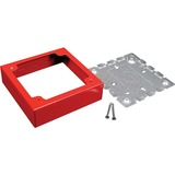 C2G Wiremold 700 Double Gang Alarm Device Box Fitting - 2-gang - Steel