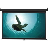 "Quartet® Wide Format Projection Screen, 16:9 Aspect Ratio, 52"" x 92"", Wall Mount"