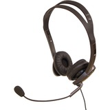 Spracht ZjM Stereo 3.5 and USB Headset - Stereo - Mini-phone - Wired - 32 - 140 Hz - 20 kHz - Over-the-head - Binaural - Circumaural - 5 ft Cable - Noise Canceling