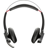Plantronics Voyager Focus UC Stereo Bluetooth Headset With Active Noise Canceling (ANC) - Stereo - Wireless - Bluetooth - 150 ft - Over-the-head - Binaural - Supra-aural - Noise Reduction Microphone