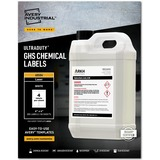 """Avery® UltraDuty(R) GHS Chemical Labels for Laser Printers, Permanent Adhesive, Waterproof, UV Resistant, 4"""" x 4"""", 200 Labels (60504)"""