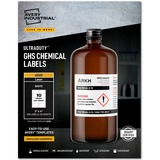 """Avery® UltraDuty(R) GHS Chemical Labels, Permanent Adhesive, Waterproof, UV Resistant, 2"""" x 4"""", 500 Labels (60505)"""