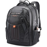 "Samsonite Tectonic 2 Carrying Case (Backpack) for 17"" Notebook - Black, Orange"