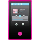 "Ematic EM318VID 8 GB Pink Flash Portable Media Player - Audio Player, Photo Viewer, Video Player, FM Tuner, Voice Recorder, Memory Card Reader, e-Book, FM Recorder - 2.4"" 76800 Pixel Active Matrix TFT Color LCD - Touchscreen - Bluetooth - 6 Hour Audio - 3"
