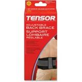 Tensor Adjustable Back Brace - Lightweight, Comfortable, Adjustable Strap - Strap Mount - Black