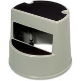 "Rubbermaid Mobile Two-Step Stepstool - 2 Step - 158.76 kg Load Capacity13"" (330.20 mm) - Beige"