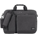 "Solo Urban Carrying Case (Briefcase) for 15.6"" Notebook - Gray, Black"