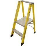 "Featherlite 6500 6504 Stool - 136.08 kg Load Capacity48"" (1219.20 mm) - Yellow"