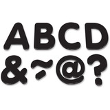 """Teacher Created Resources Black 2"""" Magnetic Letters"""