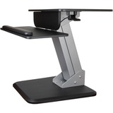 "StarTech.com Height Adjustable Standing Desk Converter - Sit Stand Desk with One-finger Adjustment - Ergonomic Desk - 12"" to 30"" Screen Support - 13 kg Load Capacity - Flat Panel Display Type Supported - 6.30"" (160.02 mm) Height x 28.30"" (718.82 mm) Width"