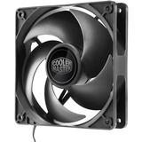 Cooler Master Silencio FP120 PWM Cooling Fan - 120 mm - 44 CFM - 14 dB Noise - Loop Dynamic Bearing - 4-pin PWM - Plastic - 18.3 Year Life