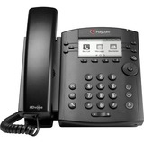 Polycom VVX 301 IP Phone - Wall Mountable - 6 x Total Line - VoIP - Speakerphone - 2 x Network (RJ-45) - PoE Ports - LDAP, SIP, DHCP, SNTP, LLDP-MED, RTCP, RTP, TCP, UDP, SRTP Protocol(s)