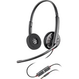 Plantronics Blackwire C225 Headset - Stereo - Mini-phone - Wired - 20 Hz - 20 kHz - Over-the-head - Binaural - Supra-aural - Noise Canceling