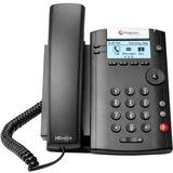 Polycom 201 IP Phone - Desktop, Wall Mountable - 2 x Total Line - VoIP - Speakerphone - 2 x Network (RJ-45) - SIP, SDP, DHCP, SNTP, CDP, LLDP-MED, NAT, RTCP, RTP, UDP, SRTP, ... Protocol(s)