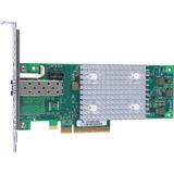 HPE StoreFabric SN1100Q 16Gb Single Port Fibre Channel Host Bus Adapter - PCI Express 3.0 - 1 x Total Fibre Channel Port(s) - 1 x LC Port(s) - SFP+ - External