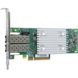 HPE StoreFabric SN1100Q 16Gb Dual Port Fibre Channel Host Bus Adapter - PCI Express 3.0 - 16 Gbit/s - 2 x Total Fibre Channel Port(s) - 2 x LC Port(s) - SFP+ - Plug-in Card