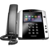 Polycom VVX 601 IP Phone - Wall Mountable, Desktop - 16 x Total Line - VoIP - Speakerphone - 2 x Network (RJ-45) - USB - PoE Ports - Color - SIP, LDAP, SDP, DHCP, SNTP, LLDP-MED, RTCP, RTP, TCP, UDP Protocol(s)