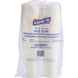 Genuine Joe Disposable Hot Cup - 473.18 mL - 50 / Pack - White - Coffee, Hot Drink