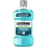 LISTERINE® Cool Mint Antiseptic Mouthwash for Bad Breath - 1.5 L - Blue
