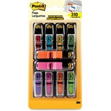 """Post-it® 1/2""""W Arrow Message Flags with 70 Bonus Standard Flags - 10 Total Dispensers"""