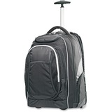 "Samsonite Tectonic Carrying Case (Rolling Backpack) for 15.6"" Notebook - Black, Gray"