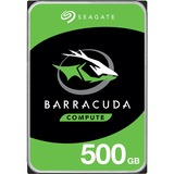 "Seagate BarraCuda ST500LM030 500 GB Hard Drive - 2.5"" Internal - SATA (SATA/600) - 5400rpm - 128 MB Buffer - 2 Year Warranty"