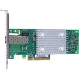 HPE StoreFabric SN1600Q 32Gb Single Port Fibre Channel Host Bus Adapter - PCI Express 3.0 x8 - 32 Gbit/s - 1 x Total Fibre Channel Port(s) - Plug-in Card