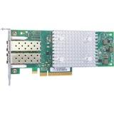 HPE StoreFabric SN1600Q 32Gb Dual Port FC HBA - PCI Express 3.0 x8 - 32 Gbit/s - 2 x Total Fibre Channel Port(s) - SFP+ - Plug-in Card
