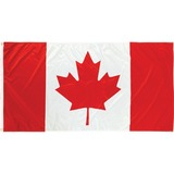 """Flying Colours International National Flag - Canada - 54"""" x 27"""" - Durable - Polyester"""