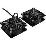CyberPower Carbon CRA11002 Fan Tray - 2 Fan - 5.4 m³/minBlack