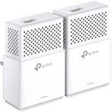 TP-LINK AV1000 Gigabit Powerline Starter Kit - 2 - 1 x Network (RJ-45) - 1000 Mbit/s Powerline - 984.3 ft Distance Supported - HomePlug AV2 - Gigabit Ethernet
