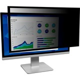 "3M Framed Privacy Filter for 19"" Widescreen Monitor (16:10) (PF190W1F) Black - For 19"" Widescreen Monitor - 16:10 - Black"